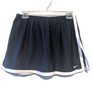 Nike Tennis Skirt Navy Blue White Medium